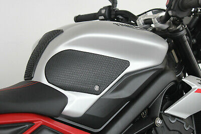 TechSpec TRIUMPH STREET TRIPLE, S, R and RS (18 - CURRENT) Snake Skin Tank Grips