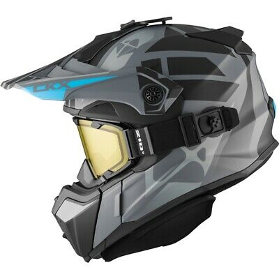 CKX Snowmobile Helmet Backcountry Goggles Titan Abyss