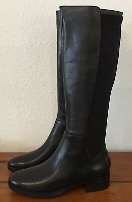 bc1d17d0af32 TORY BURCH CAITLIN Stretch Otk Boot Suede ~ Coconut 212 ~ Size 9 ...