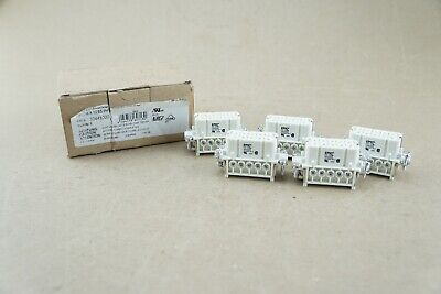 Pack of 5 Lapp Group Epic H-A10BS PH1 Female Connector 10 Pin Insert 10441100