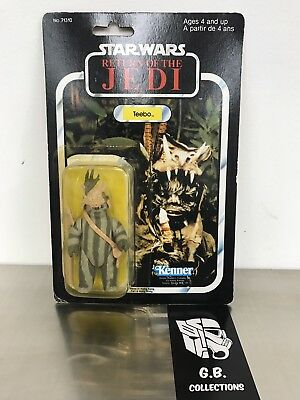 Star Wars Vintage 1983 The Return Of The Jedi Ewok Teebo New Sealed