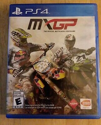 MXGP: The Official Motocross Videogame (PS4, 2014) sony playstation 4 video game