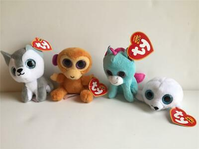 TY Teenie Beanie Boos Mcdonalds Magic Timber Seamore Hang Tag Happy Meal  Toy Lot c1f3db194c6a