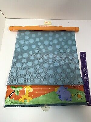 fisher price roller shade for car window