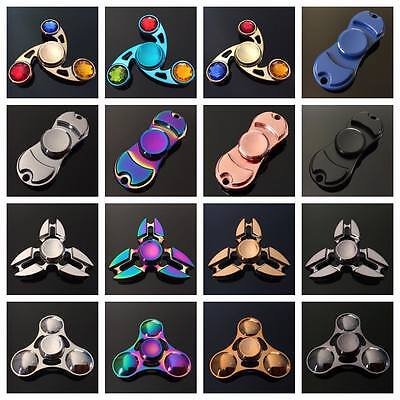 BUY ONE GET ONE FREE!!  Fidget Hand Spinner Finger Cube Toy Metal Stress Relief
