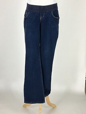 07c0ff6459a1f Old Navy Maternity Jeans Stretch Low Rise Knit Panel Boot Cut Med.Wash Size  6