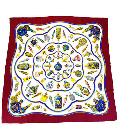 Auth HERMES XL Carre Scarf