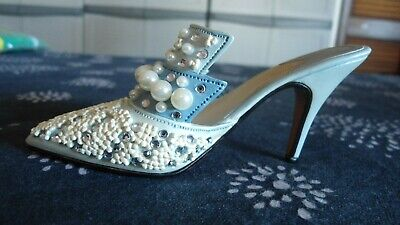Just The Right Shoe 1999 Miniature Stiletto ~ Frosted Fantasy 25032