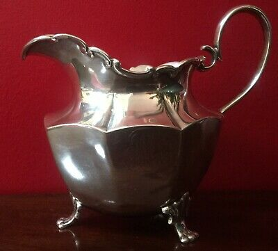 """Vintage Frank W. Smith Sterling Silver Creamer 3 1/4"""" Gorgeous Proportions"""