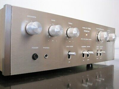 Onkyo Integrated Stereo Amplifier. Model: A-7066