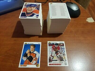 1991-92 UD Upper Deck Hockey Series 1 Set 1-500 FORSBERG HASEK ROOKIES PLUS MORE