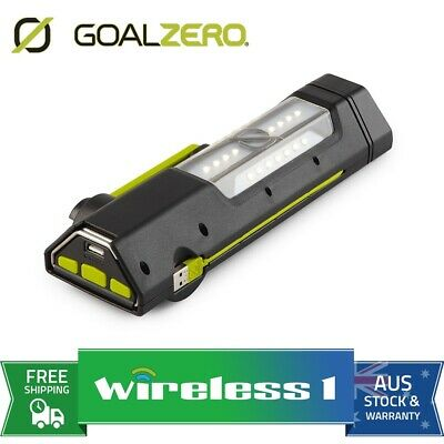 Brand New Goal Zero Torch 250 Solar Powered Flash Light and Power Bank