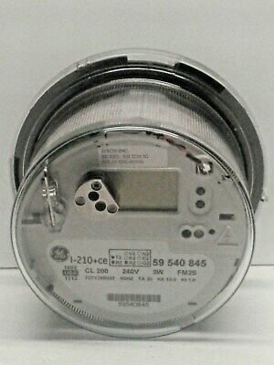 Save$ GE I-210+ce Sunrun SSI I210 3G CL 200 Digital Watthour Electric Usage Met