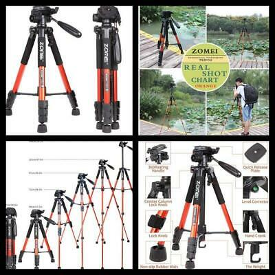 Professional DSLR Camera Tripod Camcorder Stand with Pan Head Plate Nikon Sony