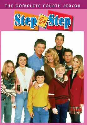 Step By Step: The Complete Fourth Season 4 (DVD, 2019, 3-Disc Set) Brand New