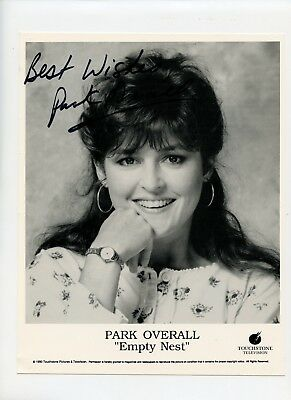 """Autographed 8 x 10 Photo TV Actress Comedian Park Overall """" Empty Nest """""""