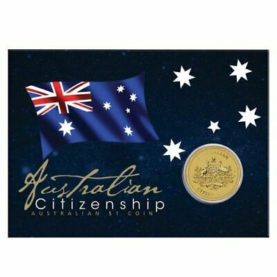 NEW Perth Mint - 2019 Australian Citizenship $1 Coin in Card