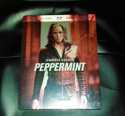 Peppermint Blu-Ray Steelbook Limited Edition [France]