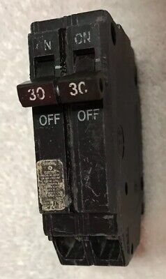 GE THQP230 TQP230 GENERAL ELECTRIC 30 AMP 2 POLE TANDEM CIRCUIT BREAKER