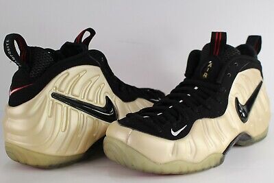 check out 56e38 8a42c 2010 Nike Air FOAMPOSITE PRO ONE PENNY PEARL WHITE BLACK TRUE RED 9