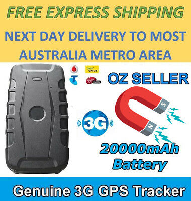 20,000mAh Magnetic GPS Tracker Car 3G 240 Days Standby GPRS Car Tracking Device