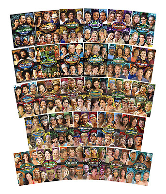 Survivor: The Complete Series Collection - Seasons 1-29 (DVD, 156-Disc Set) New