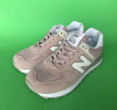 buy popular 96285 c0d41 NEW BALANCE 574 Core Sneakers Women's Size 7 Rose Pink WL574ESP New