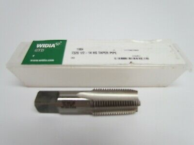 """1 - Greenfield GTD Pipe Tap, 1/2 - 14 NPTF, 4 FL, 1/2"""" Pipe, Taper, G, DS, HS"""