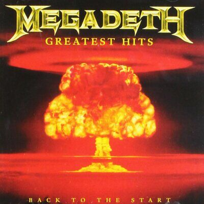 Greatest Hits: Back to the Start by Megadeth (CD, Jun-2005, Capitol) *NEW*