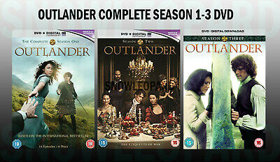 OUTLANDER COMPLETE SEASON 1-3 DVD Series 1 2 3 All Episodes New UK Release Seale