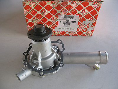 New Febi 17253 Engine Water Pump For Mercedes-Benz (1112002301) - 1 Pc Only