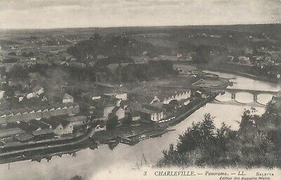 CPA - France - (08) Ardennes - Charleville - Panorama
