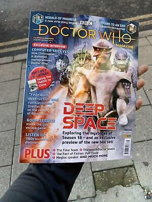 Doctor Who Magazine Issue 535 March 2019 Deep Space Chris H Bidmead Dr Who Mag