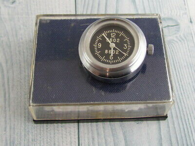 AIRCRAFT GUN CAMERA in the box WWII Military CLOCK USSR Vintage AIR FORCE Soviet