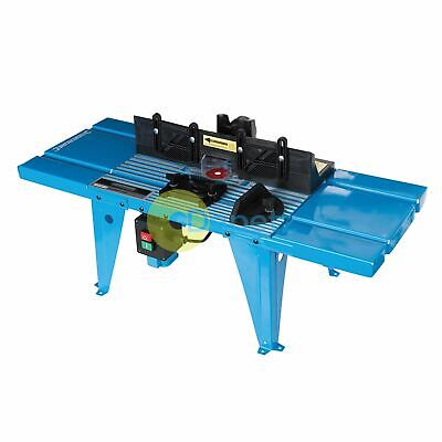 DIY Router Table 850 x 335mm UK 230V Mounted Bench Table for Wood Working