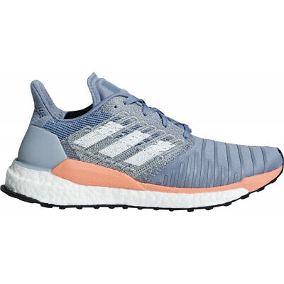 7664f3713 Womens Adidas Solar Boost Women s Running Runners Sneakers Casual Shoes -  Blue