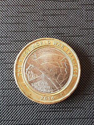 The Army - FIRST WORLD WAR WWI  1914 -1918 - 2016 UK £2 / Two Pound Coin 180410b