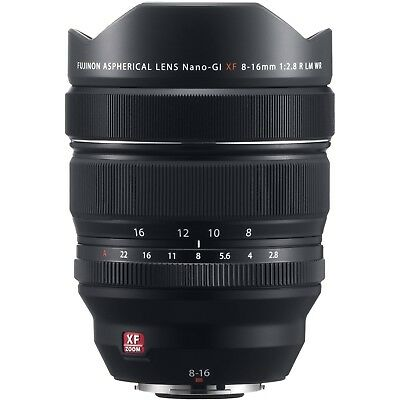 New Fuji XF8-16mm f2.8 R LM WR  Fujinon lens for Fujifilm X series New UK Stock