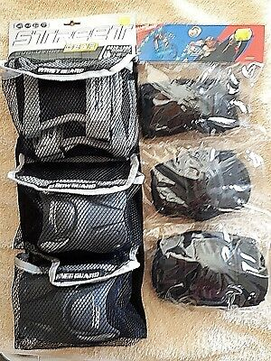 2 Sets x Protective Gear - Knee, Elbow, Wrist Pads, Guards Street Gear Evolution