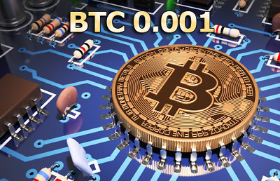 Bitcoin Mining Contract 24 Hours 0.001 BTC
