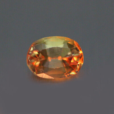 0.89cts UNIQUE 100% NATURAL' DANCING COLOR CHANGE AXINITE RARE GEM AAA !!!!