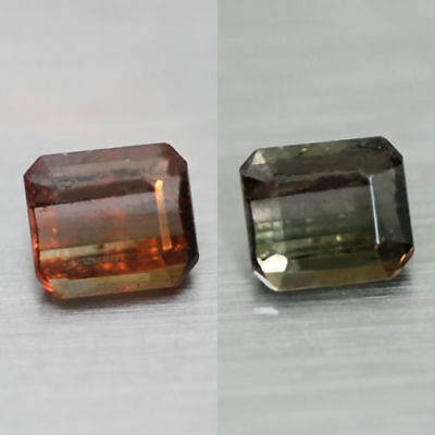0.84Cts Unique 100% Natural' Dancing Color Change Axinite Rare Gem Aaa !!!!