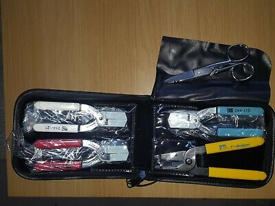 Clauss No Nick Fibre Optic Cable Stripper Set