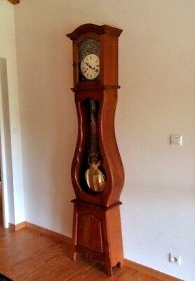 Beautiful French grandfather / grandmother clock with Chimes