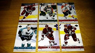 2006-07 & 2016-17 UD Young Guns Lot Series 1 & 2 Thirty Cards