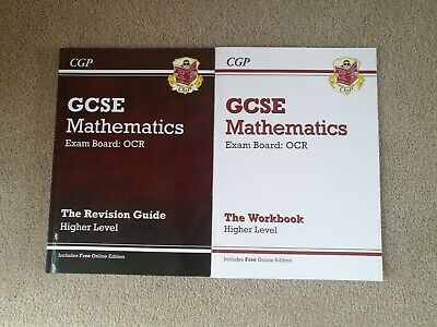 GCSE Mathematics OCR Revision Guide and Workbook for Higher Level