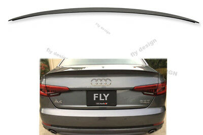 Rear Wing for Audi A4 S4 Type Soda Sport Line from ABS Style Tailgate Pull-Off