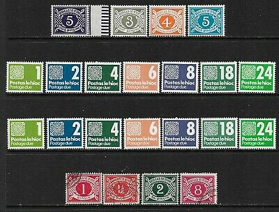 IRELAND Postage Due Nice Early Mint and Used Issues Selection (Jan 021)
