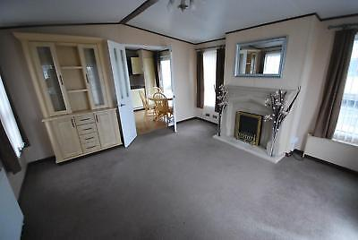 Static caravan for sale OFF SITE winterised - great condition with bath & shower