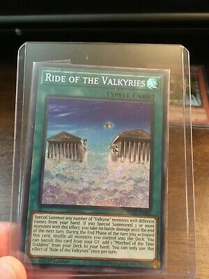 Yugioh Ride of the Valkyries - SHVA-EN006 - Secret Rare - 1st Edition NM